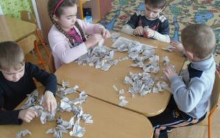 Игры для детей с газетами