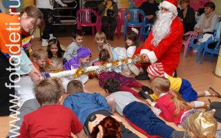 Игры для «разогрева» публики на новогоднем празднике