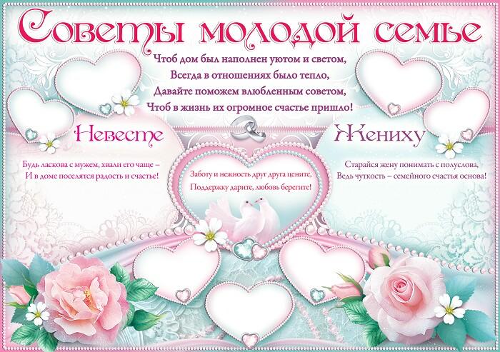 Поздравления с днем свадьбы прикольные от родителей невесты в стихах